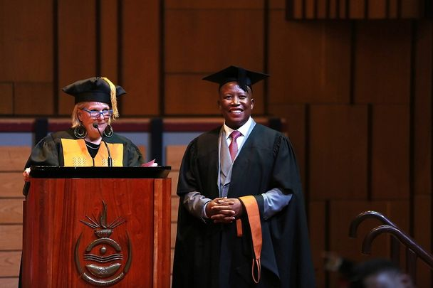 Julius_Malema_Graduates